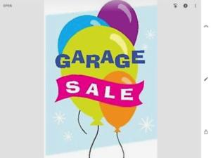 GREAT GARAGE SALE, SATURDAY , AUGUST 11,  9-1:00 pm