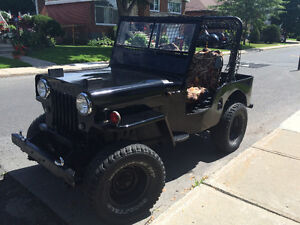 1954 (Jeep) Willy CJ-3B Black
