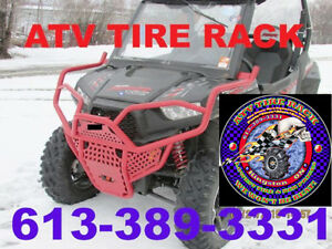 Can-Am RICOCHET Skid Plates Canada  ATV TIRE RACK Custom Colours Kingston Kingston Area image 6