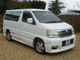 Nissan ELGRAND 3.5 AUTOMATIC ++ 8 SEATS ++ SLIDING SIDE DOOR