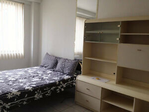 Furnished 1&1/2 studio in the McGill Ghetto-everything included!