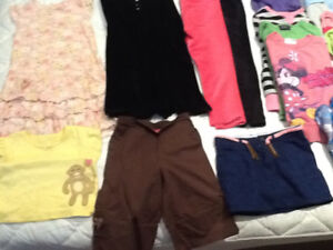 Girls size 4 clothing very good condition