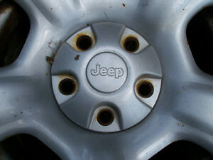 JEEP RIMS AND TIRES SET OF 4 London Ontario image 2