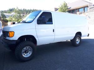 2006 Ford E350 4x4 Diesel, camper van or work van