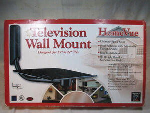 HomeVue Vantage Point Television Wall Mount For 25 to 27 Inch TV