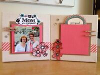 Want to learn to Scrapbook or make Cards