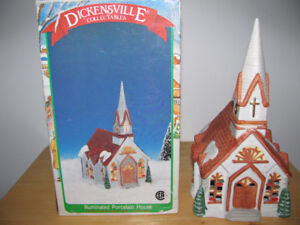 DICKENSVILLE COLLECTIBLE CHURCH-check my other ads
