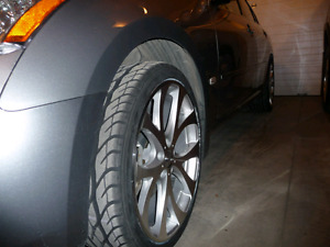 20inch Wheels and Tires Mounted Balanced TPMS the Works