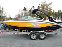 Sporty 2014 Regal 2100 RX Bow Rider