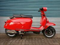 ROYAL ALLOY GP125S LC RED 2020 LIQUID COOLED