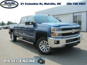 2015 Chevrolet Silverado 3500HD LTZ  5TH WHL HITCH*HEAT SEATS*NA