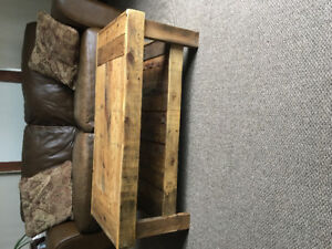Handcrafted Coffee Table made out of reclaimed pallets