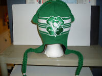 Pittsburgh Penguins St. Paddy's Tassel Toque *NEW*
