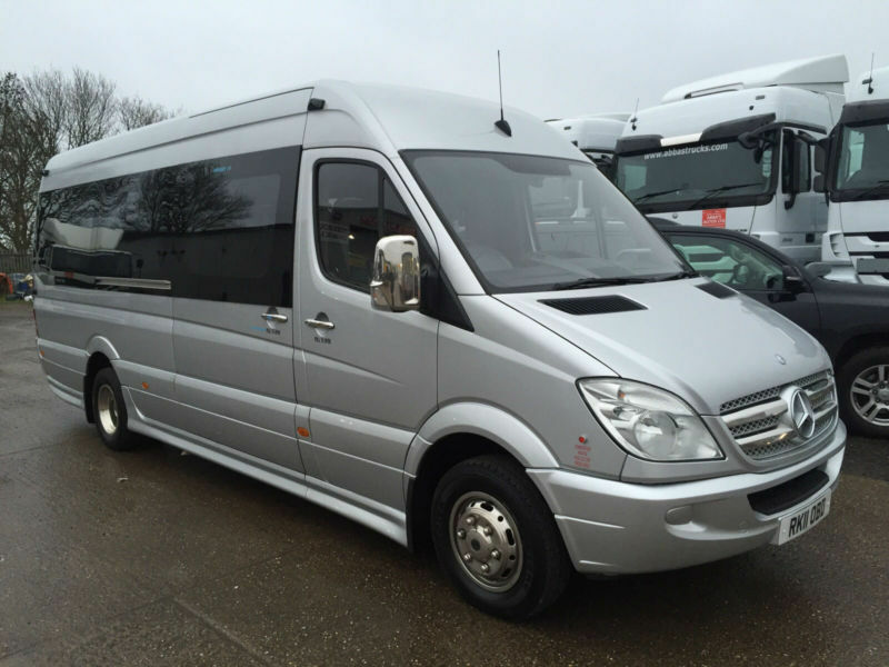 2011 mercedes benz sprinter 516 cdi automatic luxury vip for Luxury mercedes benz sprinter