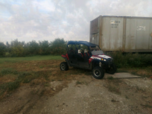 2011 Polaris RZR 4 Robbie Gordon Special edition