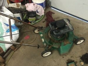 Lawn mowers and parts