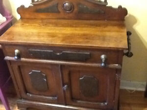 Antique hall table/ chest