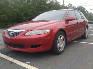 2004 Mazda Mazda6 Wagon MVI, GREAT TIGHT PEPPY CAR