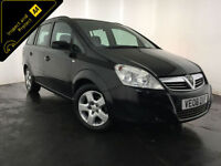 2008 VAUXHALL ZAFIRA EXCLUSIV 7 SEATER MPV FINANCE PART EXCHANE WELCOME