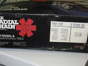 Champion Radial Tire Chains