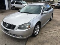 2005  NISSAN ALTIMA 3.5S  LOOKS AND RUNS GREAT