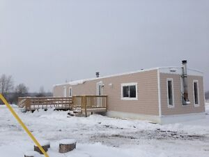 MOBILE HOME FOR RENT OR FOR SALE DIXONVILLE, N. PEACE RIVER, AB