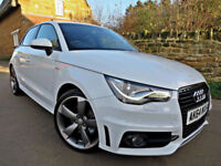 2014 AUDI A1 1.4 TFSI ( 140ps ) S-LINE SPORTBACK S TRONIC BLACK EDITION. 5 DOOR