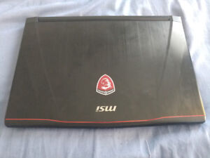 MSIGS43VR Gaming laptop (negotiable) WANT GONE ASAP