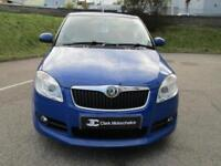 2010 Skoda Fabia 1.6 16v Sport 5dr Petrol blue Manual