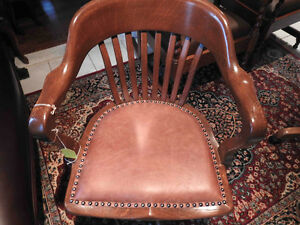 office chairs antique from 1940 to 1950's fully restored Oakville / Halton Region Toronto (GTA) image 3