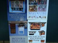 Model and dolls house books