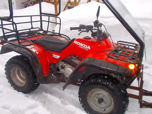 Honda Fourtrax 300 1996 4x4 2900$