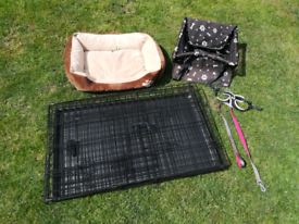 Puppy Pen and Accessories