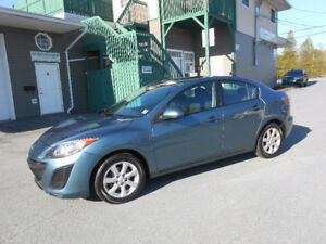 2011 MAZDA 3 4 DOOR SEDAN 1 YEAR WARRANTY INCLUDED