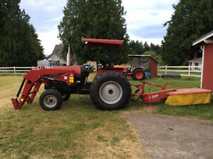 1998 Case C-50 2WD tractor with front end loader