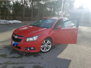 Chevy cruze RS 2012