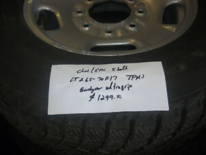 chev or gmc 8 bolt winter tires