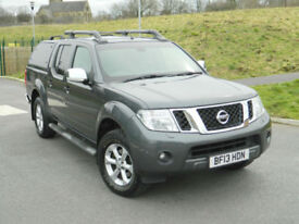 2013 (13) Nissan Navara 2.5dCi Tekna Auto With Rear Canopy Top Spec! Well Cared