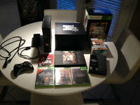 XBOX360 Elite Black 120gb HD loaded w/ games, movies, tv shows