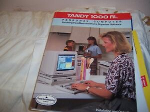 Tandy 1000 operation and instruction book