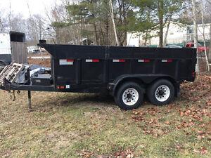 Trailer  tandem dump trailer