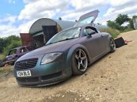 Audi TT 225 Quattro Air ride modified xxr remapped 265bhp £2400ovno/partex/swap need gone