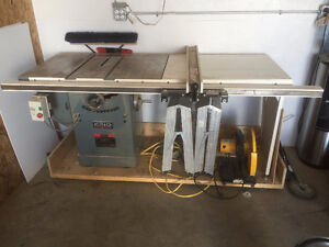 "King Industrial 10"" Table Saw"
