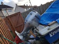 Honda 75hp outboard engine 4 stroke