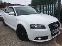 ✿58-Reg Audi A3 2.0 TDI 170 S Line Quattro 3dr ✿ONE OWNER ✿FOUR WHEEL DRIVE✿