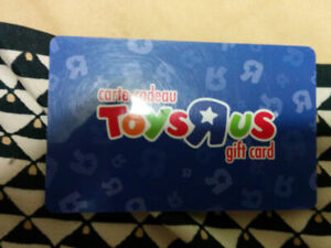 Toys R Us gift card,