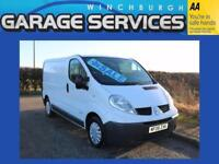 RENAULT TRAFIC EXCELLENT CONDITION **NO VAT** WOOD LINED