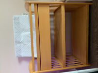 Solid Wood Baby Change Table w/ Changing Pad included - 60$