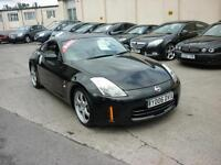 2006 Nissan 350Z 3.5 V6 300bhp Stunning in Black Finance Available