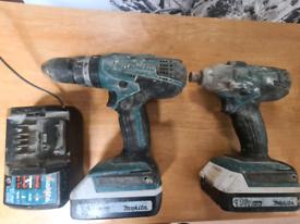 Makita drill and impact driver